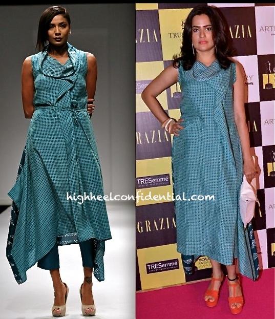 grazia young fashion awards 2013-sona mohapatra-myoho