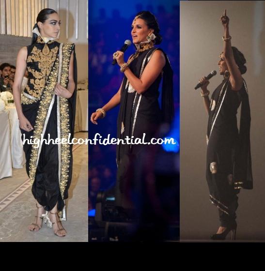 neha-dhupia-toifa-anamika-khanna-musical-night-1