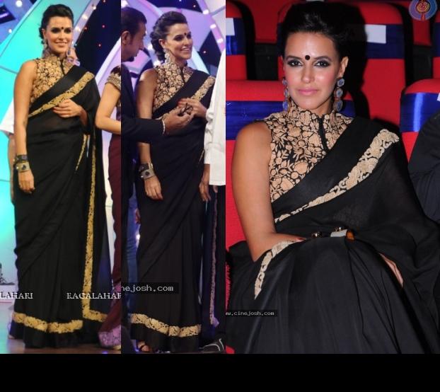 neha-dhupia-tv9-tsr-awards-nupur-kanoi-2013