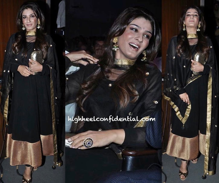 raveena tandon at baisakhi celebrations