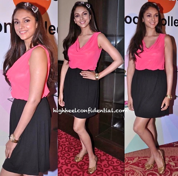 Aditi Rao Hydari In Express At Bata India Monsoon Collection Launch