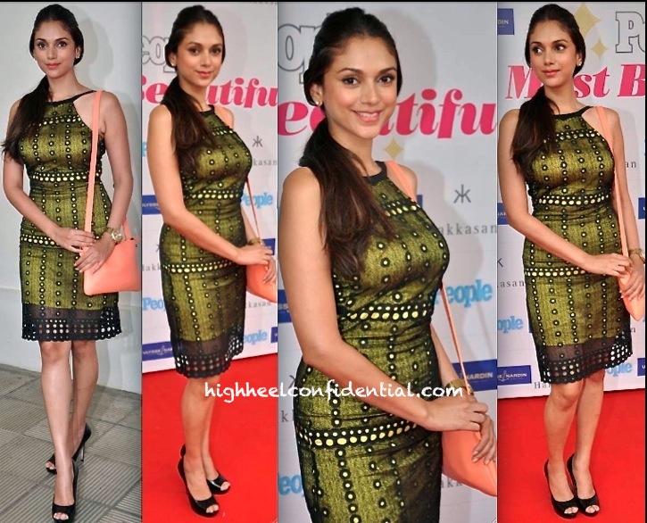 arpan vohra-Aditi Rao Hydari At People Magazine Most Beautiful Brunch