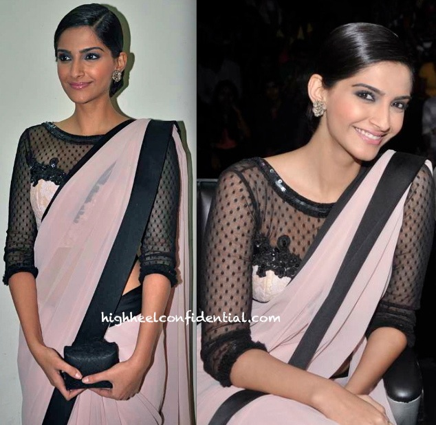 Sonam Kapoor In Atsu On The Sets Of India Dancing Superstars For Bhaag Milkha Bhaag Promotion-1
