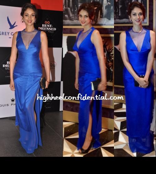aditi-rao-hydari-rohit-gandhi-rahul-khanna-gq-best-dressed-2013