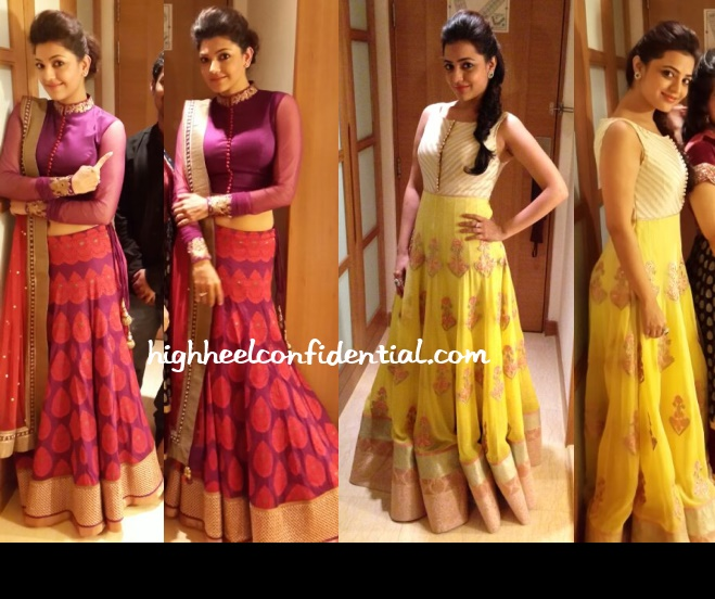 kajal-nisha-aggarwal-swa-sonam-modi-maa-awards-2013