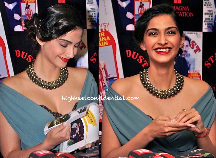 Sonam Kapoor In Gucci At Stardust Magazine Issue Launch-Cover Unveiling-1