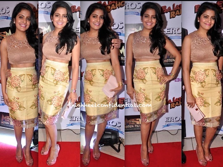 Vishakha Singh In Frou Frou By Archana Rao At Bajatey Rao Premiere