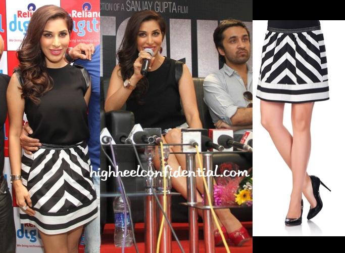 sophie-choudry-shootout-wadala-ahmedabad-promotions-pinko