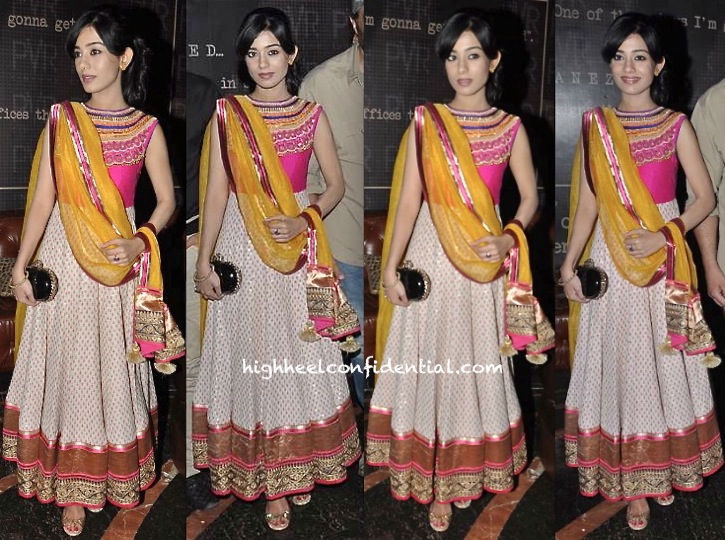 Amrita Rao At Singh Saab the Great First Look Launch
