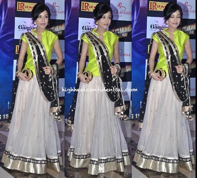 Amrita Rao In Anita Dongre At Ekta Kapoor Iftar Party-1