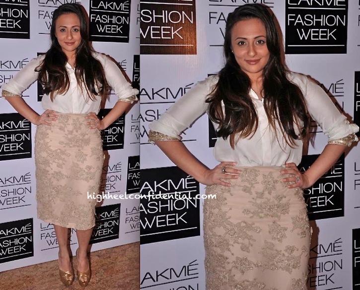 Avantika Malik In Shehlaa At Shehla Khan Show LFW A:W 2013