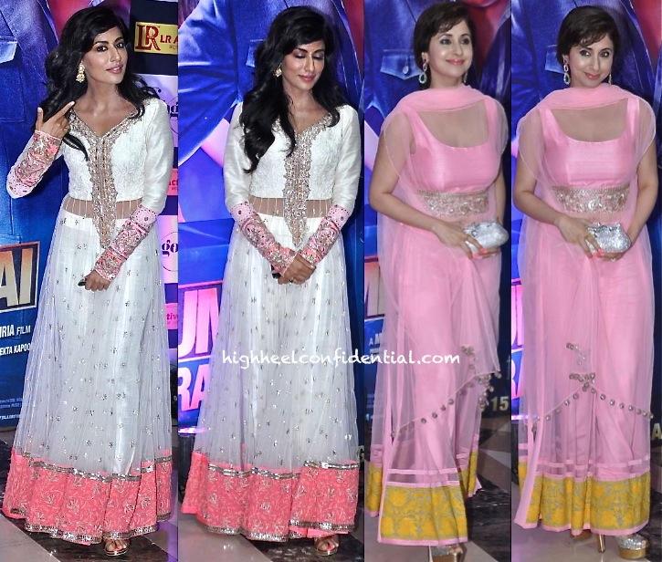 Chitrangda Singh And Urmila Matondkar In Manish Malhotra At Ekta Kapoor's Iftar Party-2
