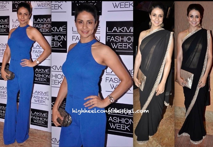 Gul Panag In AND And Anita Dongre At Lakme Fashion Week a:w 2013