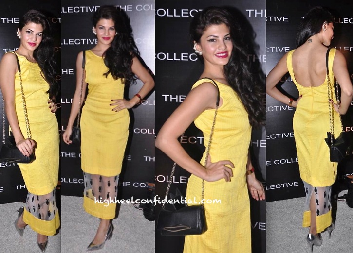Jacqueline Fernandez In Nikhil Thampi At The Collective-1