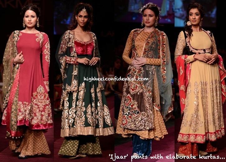 LFW A:W 2013- Shyamal And Bhumika-2