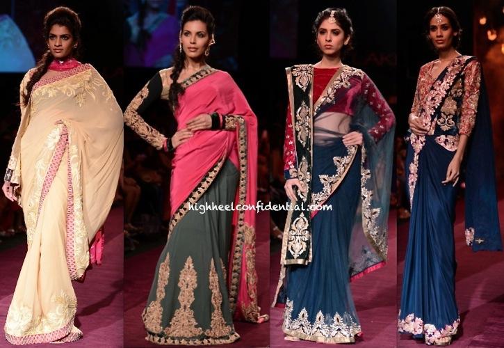 LFW A:W 2013- Shyamal And Bhumika-3