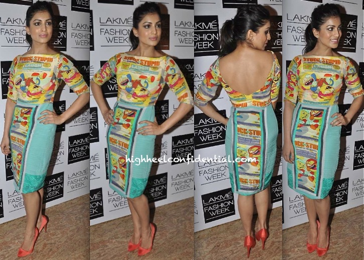 Pallavi Sharda In Quirk Box At Lakme Fashion Week