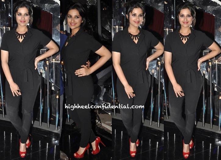 Parineeti Chopra In Sisley On Jhalak Dikhla Jaa Sets