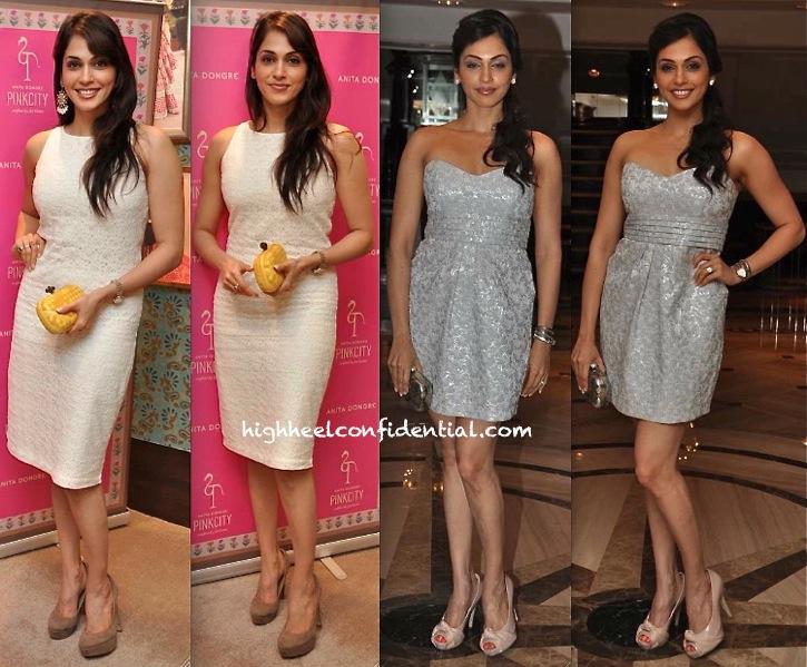 anita dongre pinkycity launch-isha koppikar-vogue beauty awards