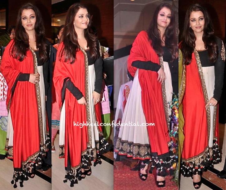 Aishwarya Rai Bachchan Wears Sabyasachi To Giants Awards 2013 -1