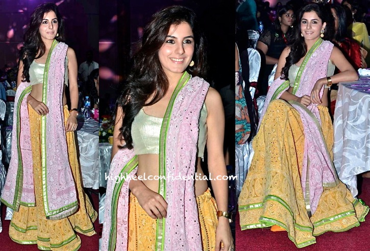 Isha Talwar On Day One Of SIIMA 2013 In SVA By Sonam and Paras Modi-1