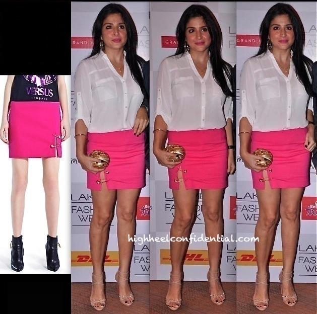 Maheep Kapoor In Versus At Lakme Fashion Week 2013