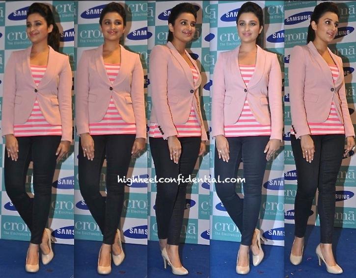 Parineeti Chopra In Zara At Samsung Galaxy Note 3 Launch