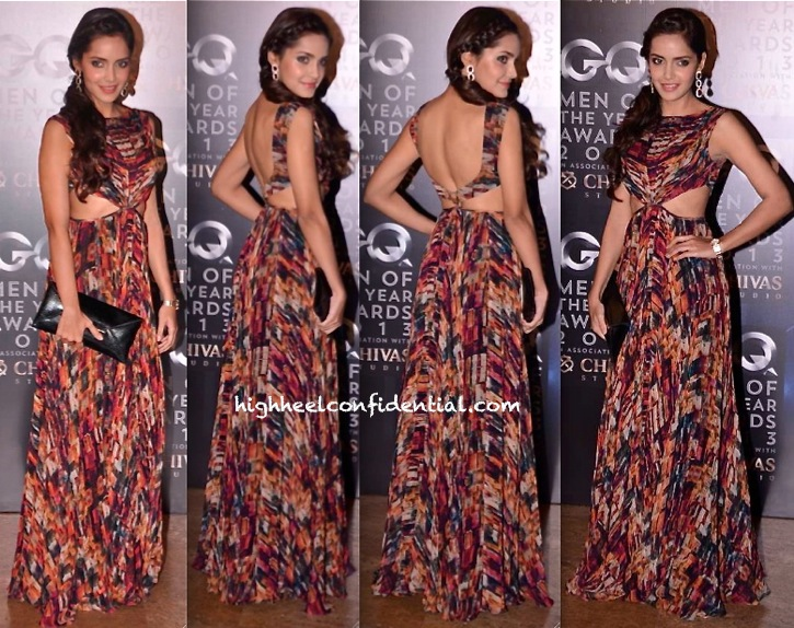 Shazahn Padamsee In Sonya Vajifdar At GQ Men Of The Year Awards 2013-1