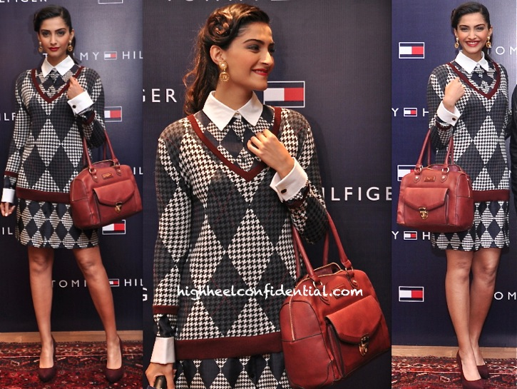 Sonam Kapoor Launches Tommy Hilfiger Fall Holiday 2013 Collection-1