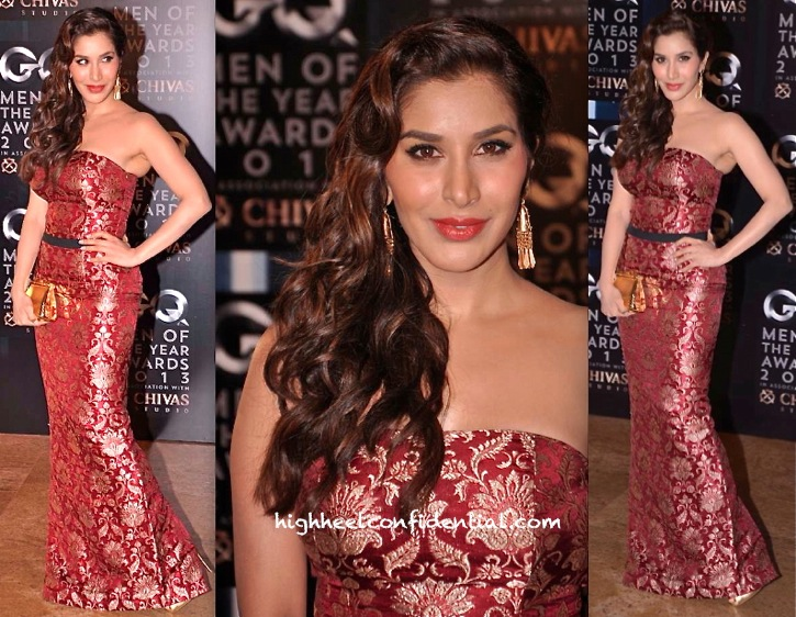 Sophie Choudry In Harsh Harsh At GQ Men Of The Year Awards 2013-1