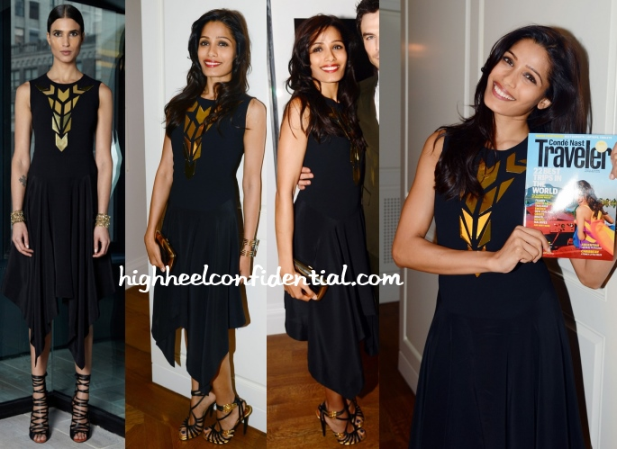 freida-pinto-conde-nast-traveler-celebration-rachel-roy-dress