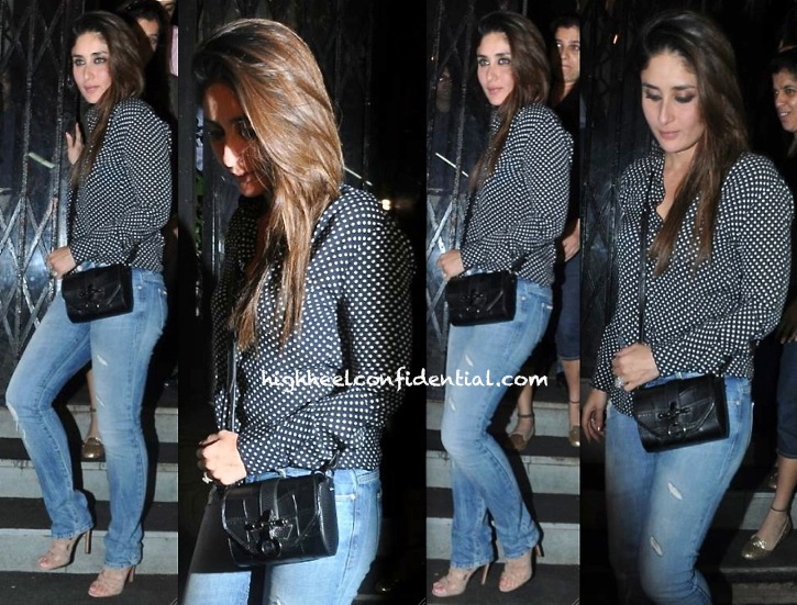 kareena photographed outside nido with givenchy