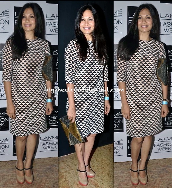 maria goretti in payal singhal at lakme fashion week winter festive 2013