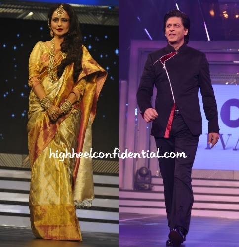 rekha-shah-rukh-khan-divani-fashion-show