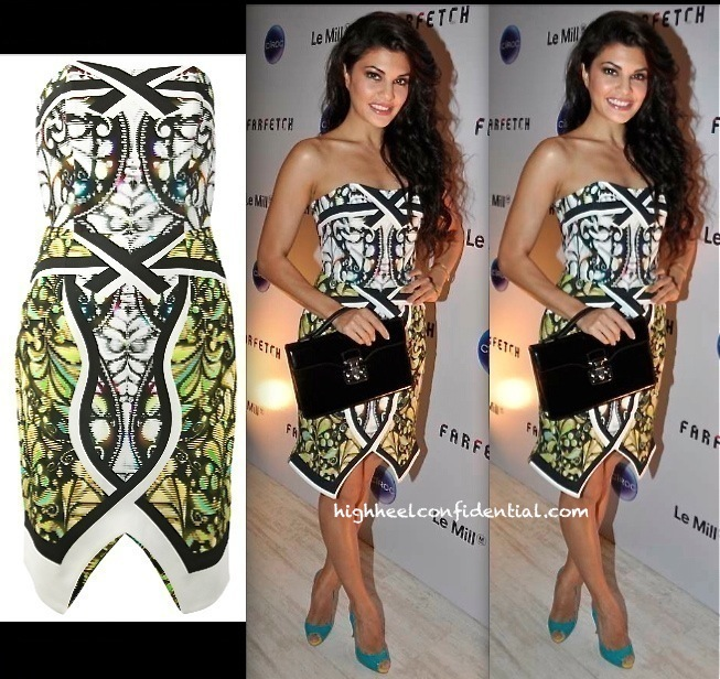 Jacqueline Fernandez At The Le Mill:Far Fetch Do In Peter Pilotto