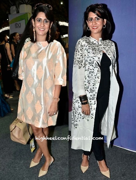 Sujata Assomull At India Fashion Week S:S 2014 In Am-Pm And Nishka Lulla