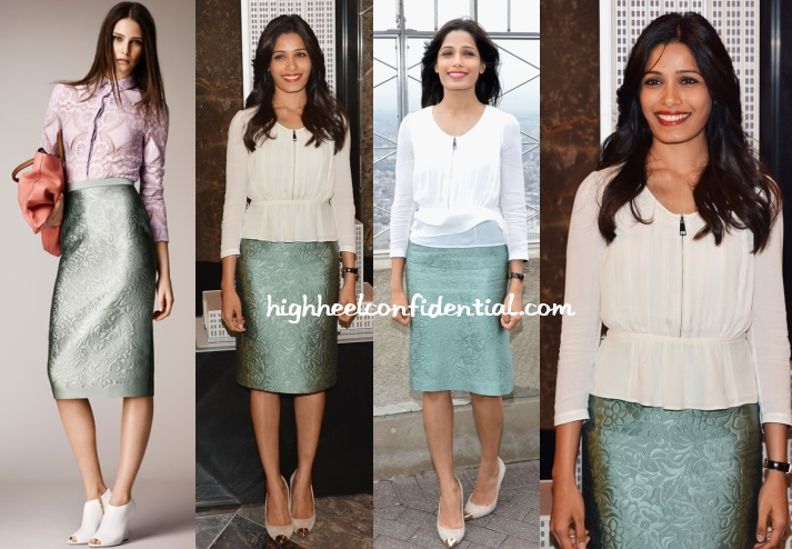 freida-pinto-burberry-empire-state-international-girl-child-day