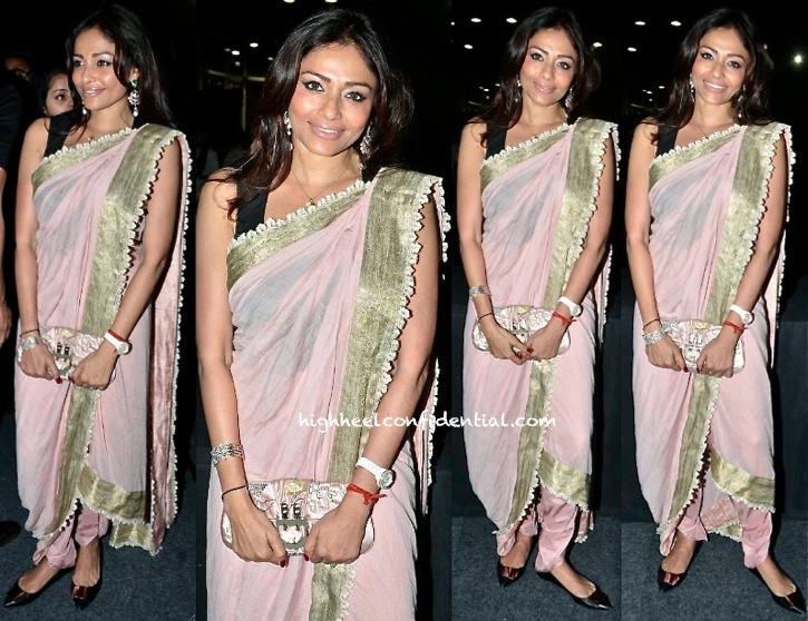 kalyani saha chawla in anamika khanna at ashish soni show at wifw spring 2014
