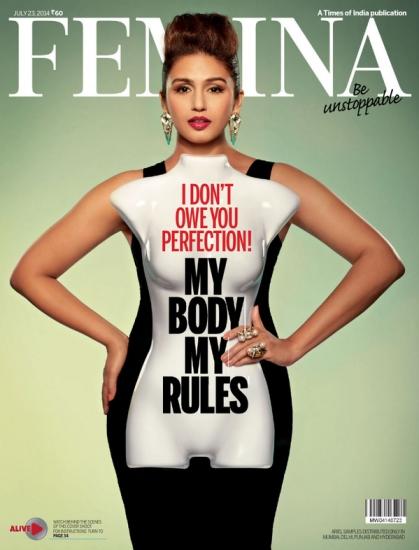 Huma Qureshi Femina July 2014 Cover