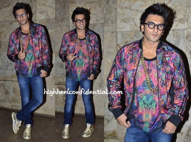 ranveer-singh-adidas-nike-khoobsurat-promotions Ranveer Singh Dressing Style-24 Best Fashion Look of Ranveer Singh