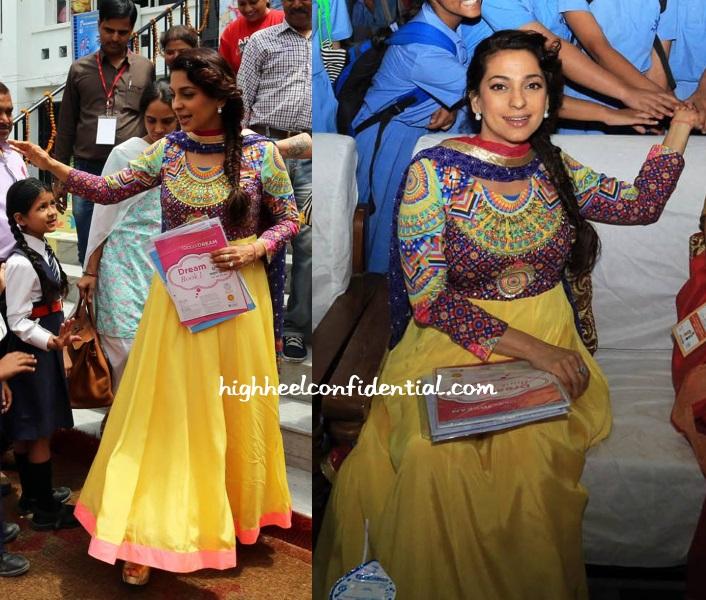 Juhi chawla manish arora international kids film festival lucknow 1