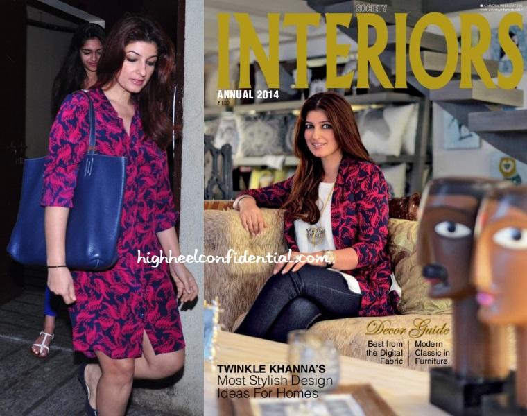 Twinkle Khanna Dvf Interiors Print