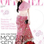 Dita On L'Officiel India