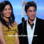 SRK At The Golden Globes: A First Look