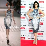 Katy In Manish Arora. Again.
