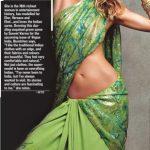 A Sari-licious Gisele