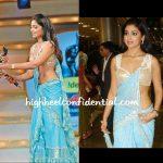 Shriya Saran at 56th South Filmfare Awards 2009: A First Look