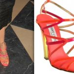 jimmy choo poppy leather sandals-mansi scott-acid factory premiere-1