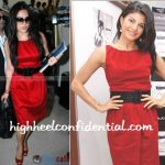 jacqueline-fernandez-preity-zinta-red-dress