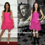 mallika-sherawat-lynn-collins-bcbg-dress